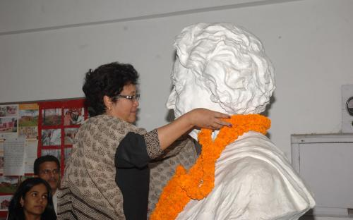 NCW remembers Smt Indira Gandhi on her birth day