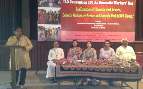 "Dr.(Mrs.) Charu WaliKhanna, Member, NCW is Chief Guest at ""Domestic Workers' Day - Celebrating Anniversary of ILO Convention 189"""