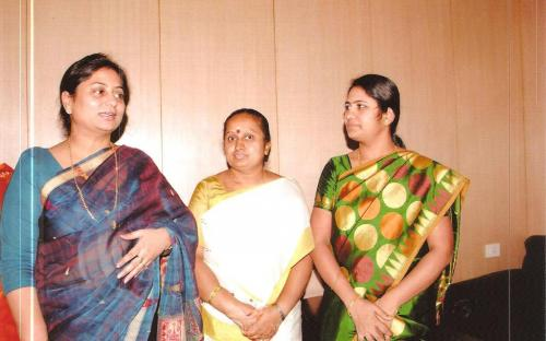 Ms. Shamina Shafiq, Member, NCW visited Karnatka State Women Commission, Bangluru