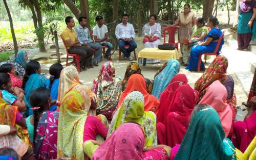 Ms. Shamina Shafiq, Member, NCW attended a meeting with rural grass root activists, organised by Mahila Smakhya, Sitapur
