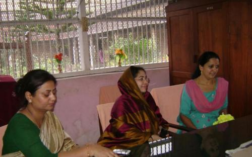 Ms. Shamina Shafiq, Member, NCW visited Thiruvanthapuram (Kerala) and held discussions with the Chairperson and members of the State Women Commission