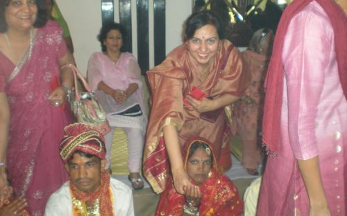 Dr. Charu WaliKhanna, Member, NCW attended the Group Marriage of 56 couples