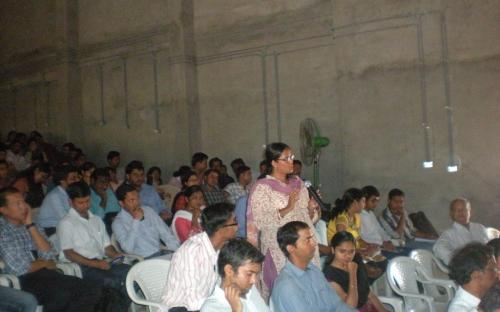 "Member Dr. Charu WaliKhanna, was Chief Guest at 35th OCG Lectures on ""Vigilance Administration/Anti-corruption and Harassment of Women at Working place"" on 24th July, 2012 at GSITI, Hyderabad"