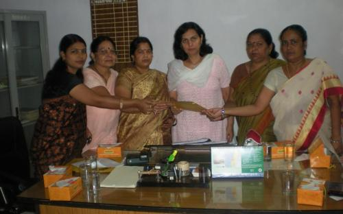 "Dr. Charu WaliKhanna, Member, NCW tour Bihar in view of the rising ""Crime Against Women"""