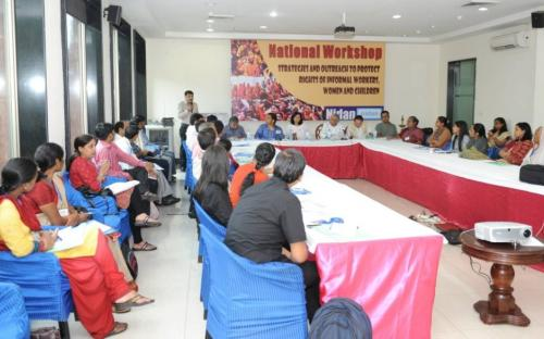 "Dr. Charu WaliKhanna, Member NCW, was Chief Guest at "" National Convention on Strategies and Outreach to Protect Rights of Informal Workers, Women and Children"""