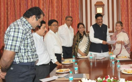 An inquiry committee in Chairpersonship of Smt. Mamta Sharma, Hon'ble Chairperson, NCW with Smt. Nirmala Samant Prabhavalkar visited Mumbai to look into the matter and also given the recommendations to the Chief Minister, Maharashtra