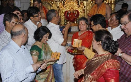 "Ms. Mamta Sharma, Hon'ble Chairperson, NCW, was Guest at ""Release of a devotional album of Ms. Madhushree Bhattacharya"""