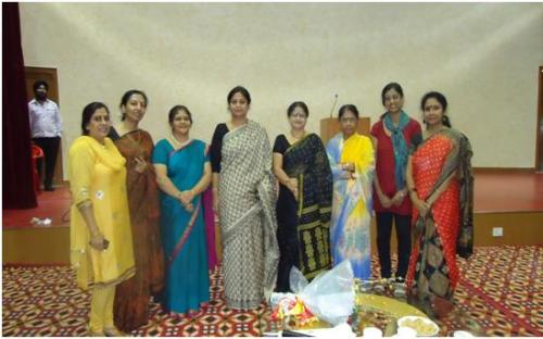 """An """"Elocution Competition"""" was organised by Delhi Unit of ONGC Officers Mahila Samiti (OOMS) at ONGC Colony, Noida (U.P.)"""