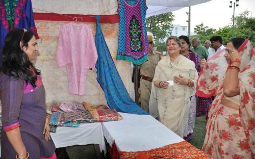"Ms. Mamta Sharma, Hon'ble Chairperson, NCW inaugurated the ""Mahila Swablamban Deepawali Mela"""