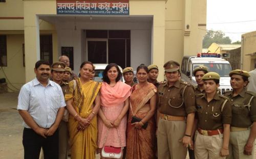 "Dr. Charu WaliKhanna Member, NCW Inaugurates Shri Krishna Bal Mela, Vrindawan including Awareness on ""Women Empowerment and Environment"" and Visited Mahila Thana & Home at Mathura"