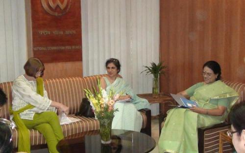 Meeting with UNIFEM officials