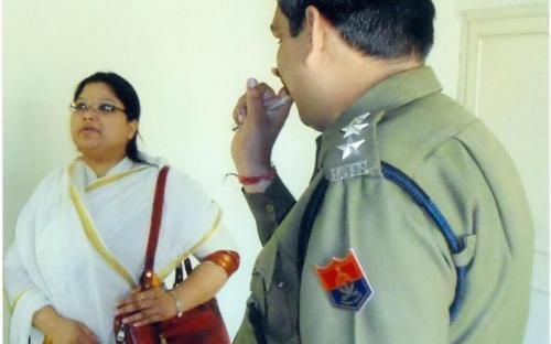 Ms. Hemlata Kheria and Ms Shamina Shafiq, Member, NCW visited Jodhpur Jail