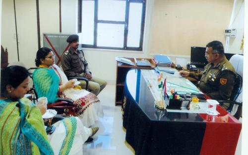 Ms. Hemlata Kheria and Ms Shamina Shafiq, Member, NCW visited BSF Camp at Jaisalmer