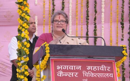 Smt. Mamta Sharma, Hon'ble Chairperson, NCW was the chief guest at the Survivors Day organized by Bhagwan Mahavir Cancer Hospital, New Delhi