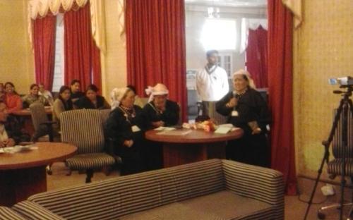 Ms. Shamina Shafiq, Member, NCW visited Kumaon on 1st March, 2013