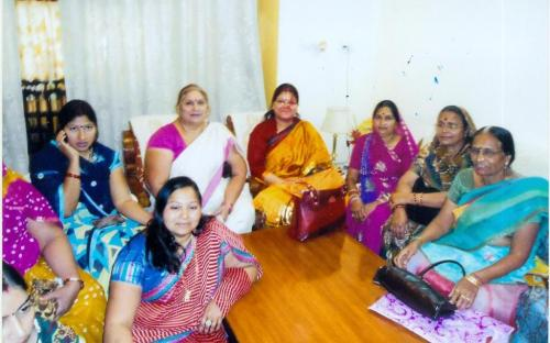 Ms. Hemlata Kheria, Member, NCW met a women delegation led by President, Municipal Committee, Udaipur and discussed various women issues