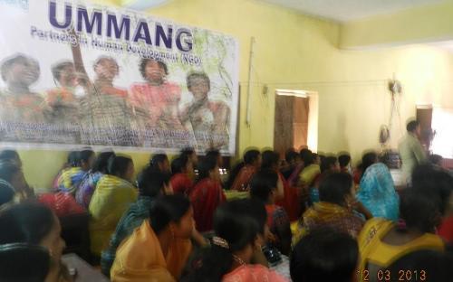 Ms. Hemlata Kheria, Member, NCW was the chief guest at LAP organized by UMMANG, Partners in Human Development held in Dist. Noorsarai, Bihar