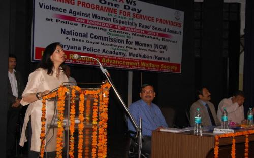 NCW organized Training and Sensitisation Programme for Police in case of Violence Against Women on 18.03.2013.