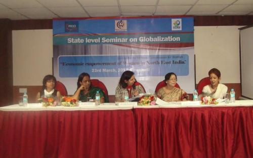 Dr. Charu WaliKhanna, Member, NCW was Chief Guest at seminar on 'Globalization viz-a-viz Economic Empowerment of Women in North East India' held at Guwahati, Assam