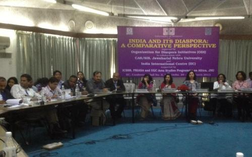 """Dr Charu WaliKhanna Member NCW Chaired Session on """"Diaspora and Gender"""""""