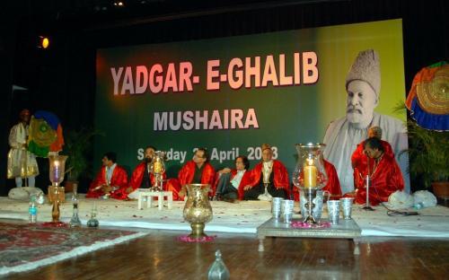 "Ms. Mamta Sharma Hon'ble Chairperson, NCW attended a cultural programme ""Yadgar -e- Ghalib"" in order to mark the death anniversary of Mirza Asadullah Khan Ghalib"