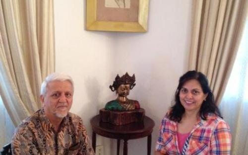 Dr. Charu WaliKhanna, Member, NCW went to Goa and paid courtesy call to Hon'ble Governor of Goa, Shri Bharat Vir Wanchoo, Hon'ble Governor of Goa