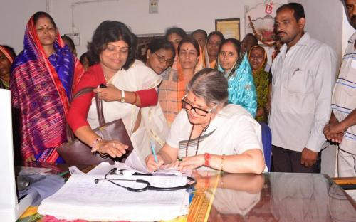 NCW Chairperson Mamta Sharma undertook a two-day visit of Odisha