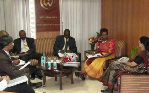 Parliamentary Delegation of Uganda visited the Commission and met Hon'able Chairperson, NCW