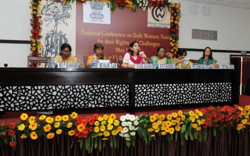 "National Commission for Women organised a National level Conference on Dalit women entitled ""Dalit Women : Voices for their Rights and Challenges"" coordinated by Ms. Hemlata Kheria, Member NCW"