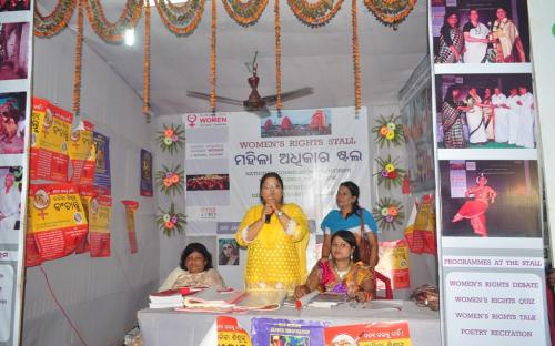 Ms Hemlata Kheria, Member, NCW visited 10-day NCW Stall hosted for the famous Jagannath Ratha Yatra