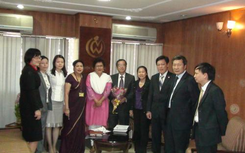 Dignitaries of Vietnam Delegation visited the Commission
