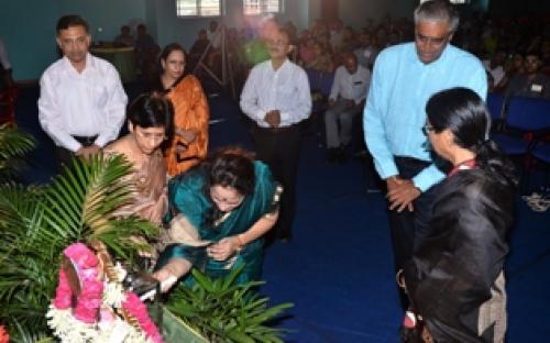 Smt. Nirmala Samant Prabhavalkar, Member, NCW inaugurated Annua Award Ceremony of Shishukunj International School
