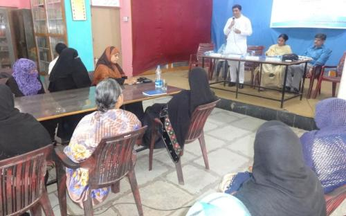 Ms. Shamina Shafiq, Member, NCW attended hearing at Hyderabad