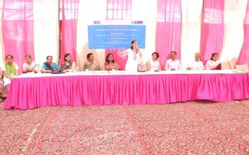 Dr. Charu WaliKhanna, Member, NCW, was Guest of Honour at the closing ceremony of Self Defence Training Programme on 10th September, 2013