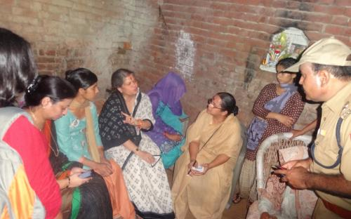 Smt. Mamta Sharma, Hon'ble Chairperson, NCW with Ms. Shamina Shafiq, Member, NCW visited Muzaffarnagar in Uttar Pradesh