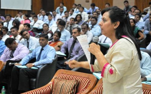Dr. Charu WaliKhanna, Member, NCW, was the Chief Guest at Training for IPS Trainees at Hyderabad