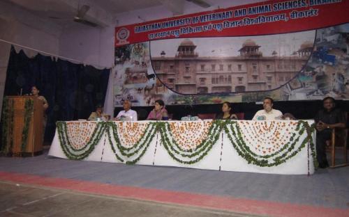 Smt. Nirmala Samant Prabhavalkar, Member, NCW attended a programme organized by Rajasthan University of Veterinary and Animal Sciences, Bikaner
