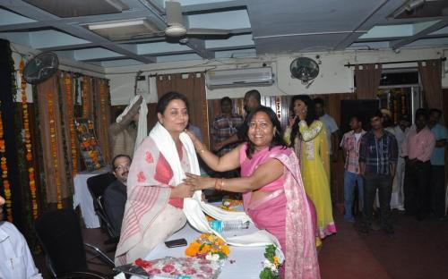 Smt. Shamina Shafiq, Member, NCW attended Bundelkhand Bhartiya Samkaleen Kala Mahotsav and National Conference