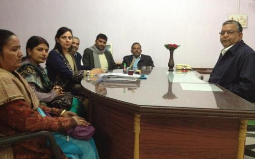 Dr. Charu WaliKhanna, Member, NCW reviews safety of women in tourist city of Bodh Gaya