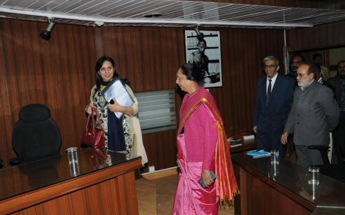 "Dr. Charu WaliKhanna, Member, NCW was Chief Guest at the Workshop on ""Prevention of Sexual Harassment at Workplace"""