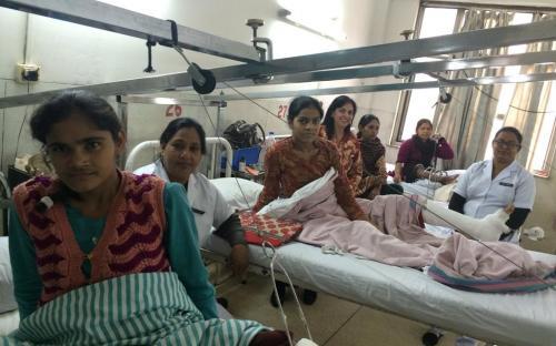 Dr. Charu WaliKhanna, Member, NCW, visited St. Stephen's Hospital