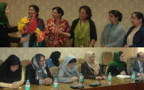 A delegation from Afghanistan visited National Commission for Women and discussed the status of Women in India and Afghanistan