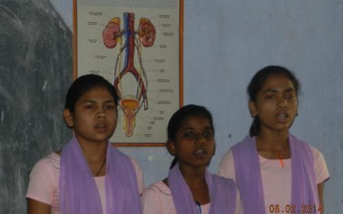 Ms. Hemlata Kheria, Member, NCW visited Kasturba Gandhi Vidyalaya for Dalit girls at Dulhin Bazar, Patna, Bihar