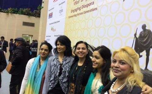 """Dr. Charu WaliKhanna, Member, NCW was Eminent Speaker at """"Pravasi Bhartiya Divas"""""""
