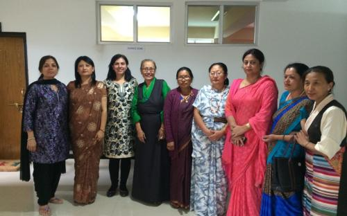 Members Dr. Charu WaliKhanna and Shamina Shafiq toured Sikkim to study best practices in Prevention of Trafficking