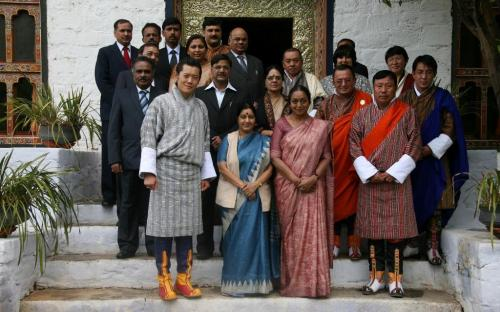 Bhutan Visit of Chairperson, NCW with Hon'able Lok Sabha Speaker Meira Kumar, Smt Sushma Swaraj