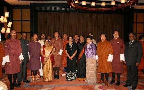 Bhutan Visit of Chairperson, NCW