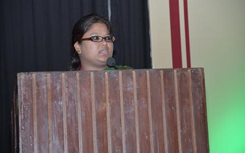 """Ms. Hemlata Kheria, Member, NCW was Chief Guest in a National Seminar on """"Dimension of Protection of Women From Domestic Act, 2005: Journey so for"""""""