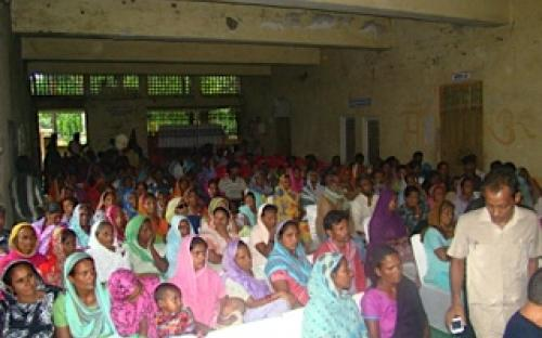 Ms. Hemlata Kheria, Member, NCW was Chief Guest to Public hearing organised by Social Development Foundation for Dalit and Backward people of the region with a majority of them being women