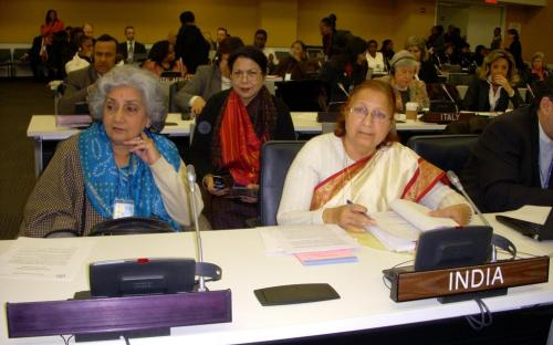 Participation by the Indian Delegation in the fifty-fifth session of the Commission on the Status of Women (CSW) of the United Nations Economic and Social Council (ECOSOC), at New York